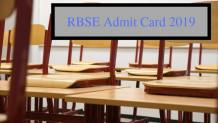 RBSE Admit Card 2019